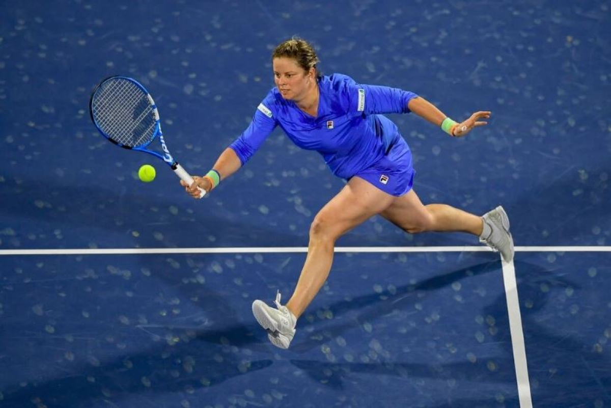 Clijsters is back again in US Open