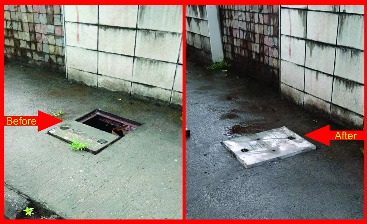 FPJ Impact: MBMC covers open and broken manholes at Mira Road