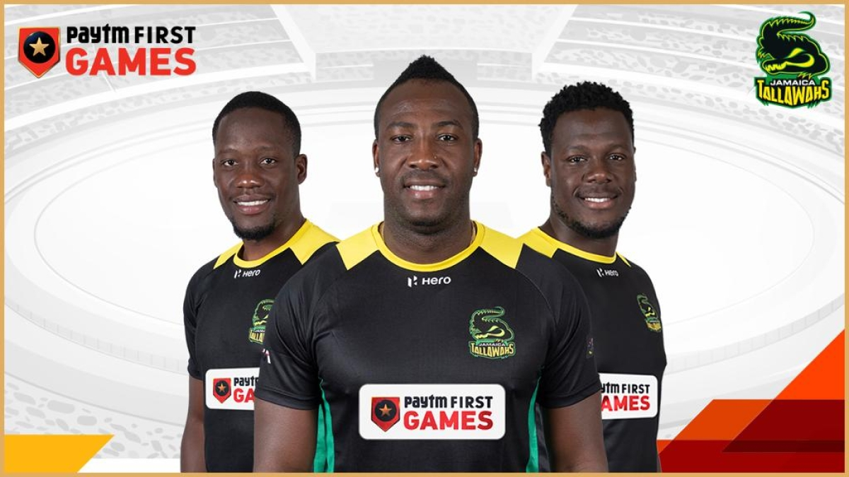 Paytm First Games enters Caribbean Premier League, becomes the title sponsor of Jamaica Tallawahs