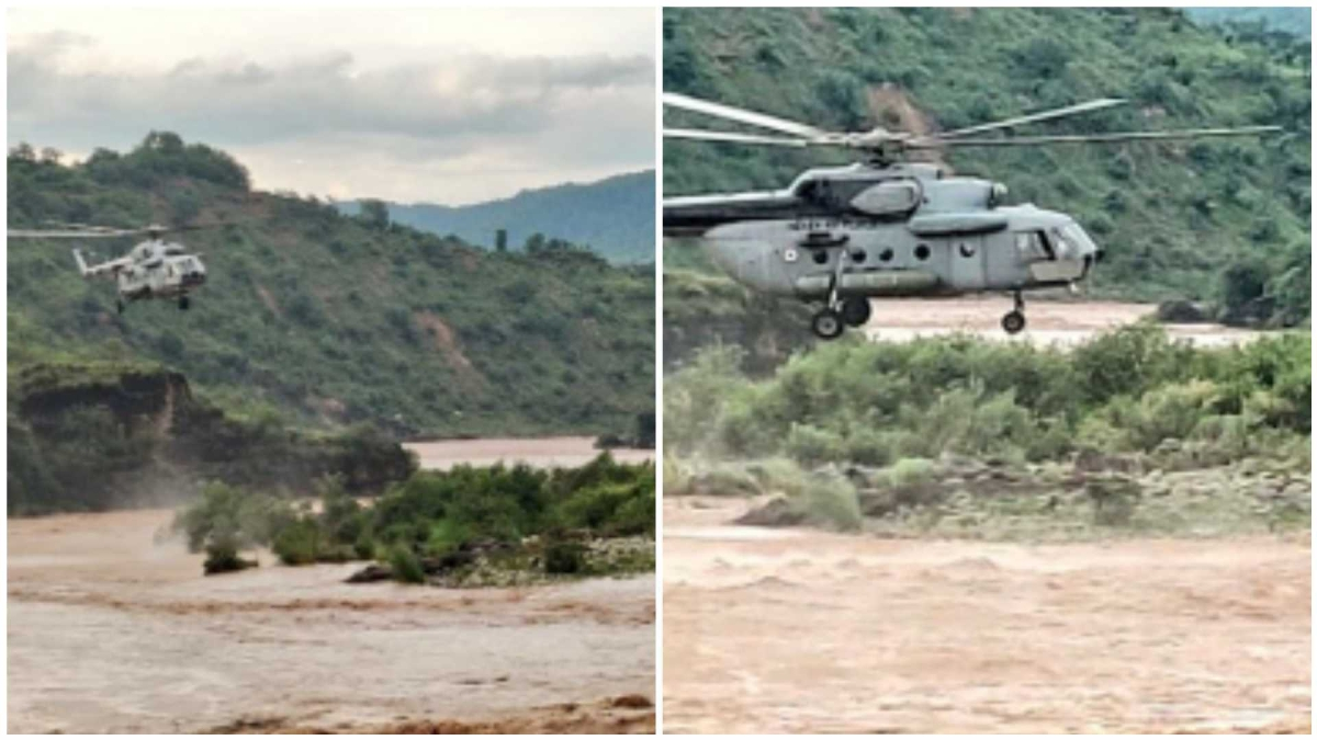 Jammu and Kashmir: 15 people rescued from flash flood in Kathua