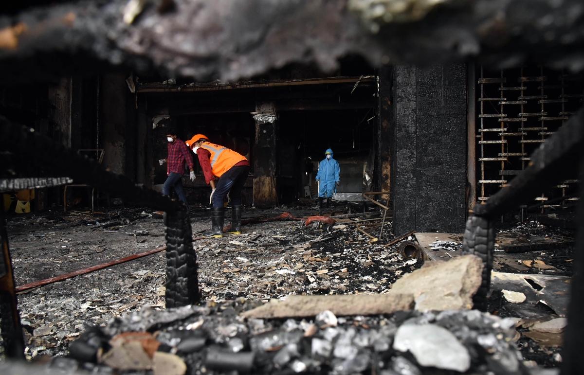 Vijayawada hotel fire: Andhra govt announces Rs 50-lakh ex-gratia each to kin of deceased