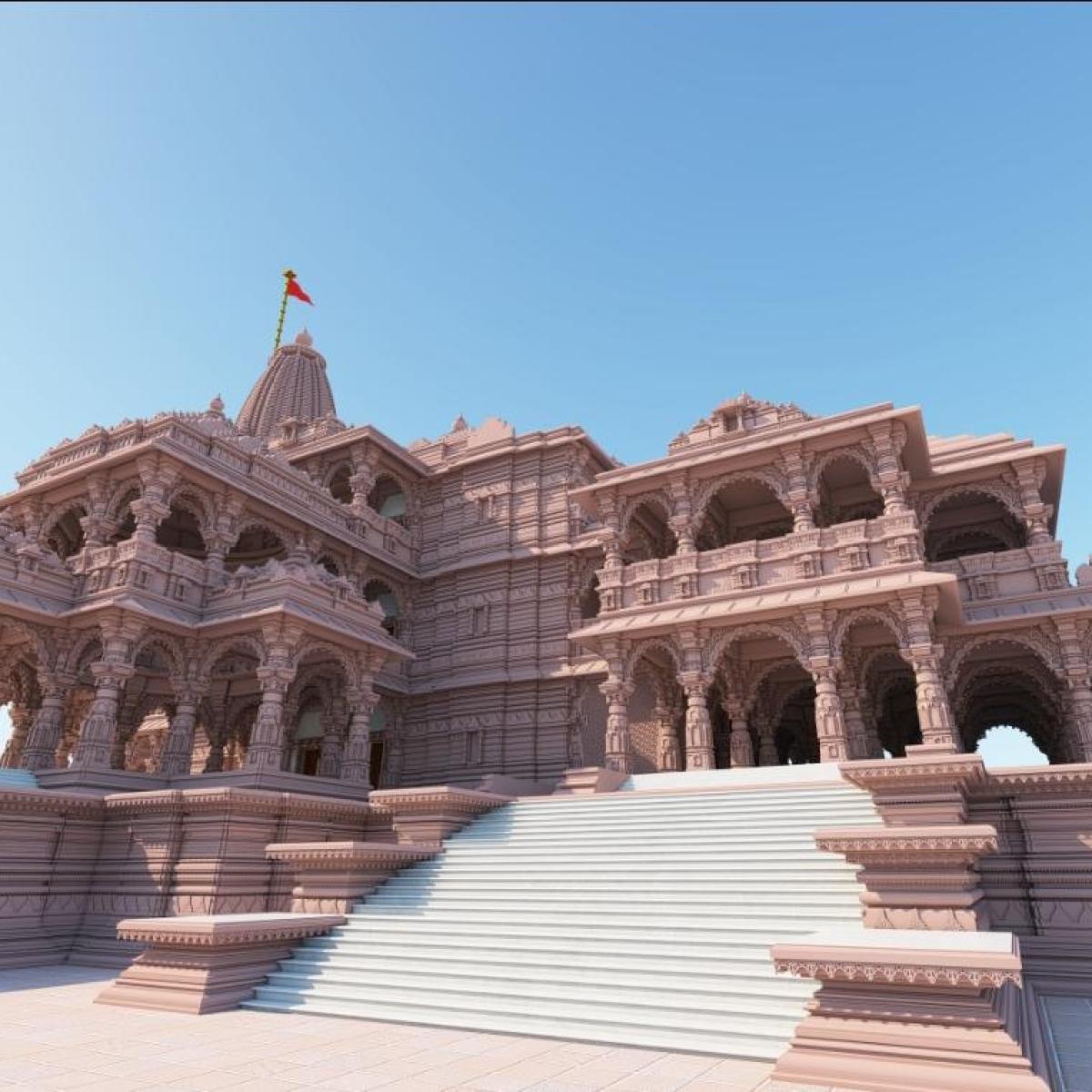 Uttar Pradesh: Ram Mandir trust to hold symbolic celebration at makeshift temple on Ram Navami; no devotees allowed amid COVID-19