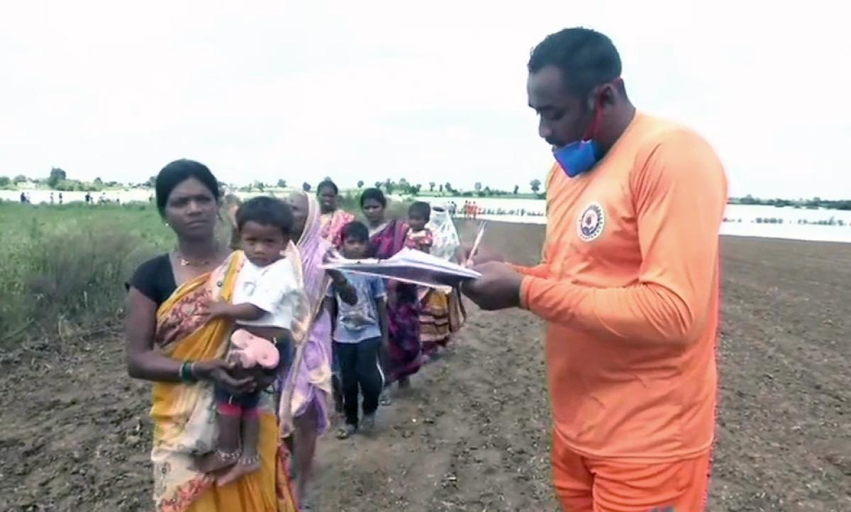 Heavy rains pound parts of Nagpur, over 14,000 evacuated