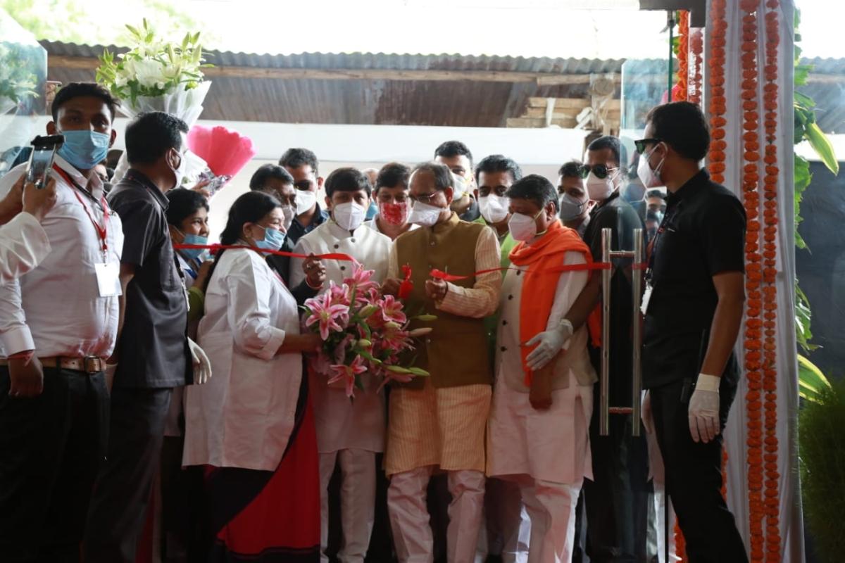 Indore: CM Shivraj Singh Chouhan inaugurates 10-storey Super Speciality Hospital