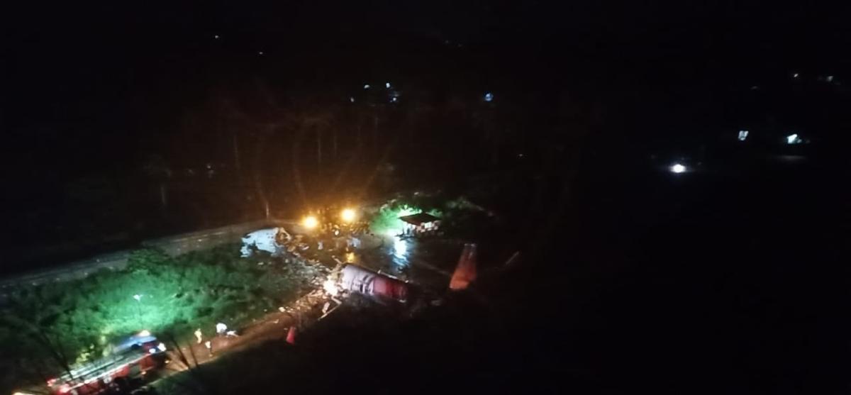 Calicut Air India Plane Crash: Pics and videos of shocking plane crash