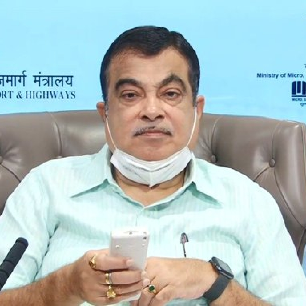 Union Minister Nitin Gadkari lays foundation stone of Rs 3K-cr highway projects in Manipur