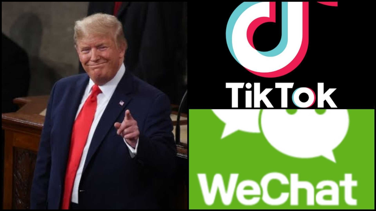 Trump signs executive orders banning TikTok, WeChat