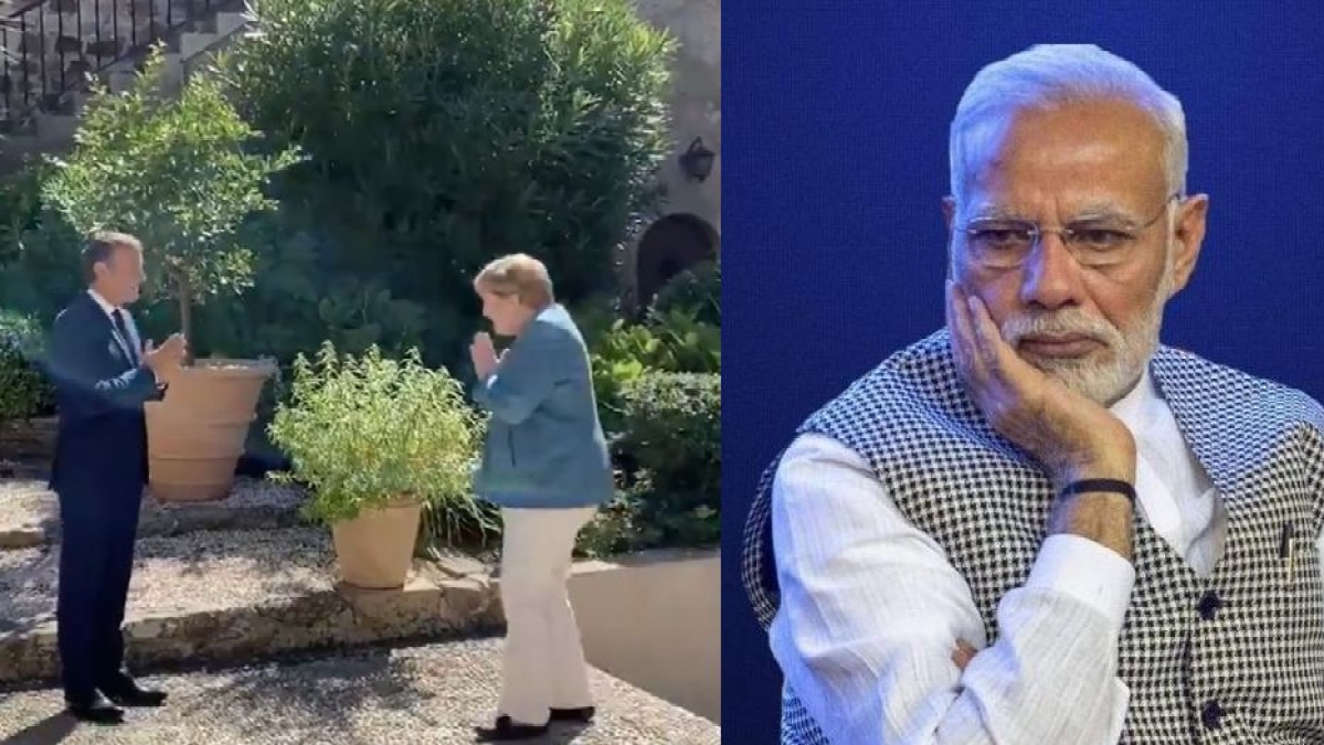 Dr Harsh Vardhan says India has become 'vishwaguru' after Macron 'namastes' Merkel, Twitter says calm down