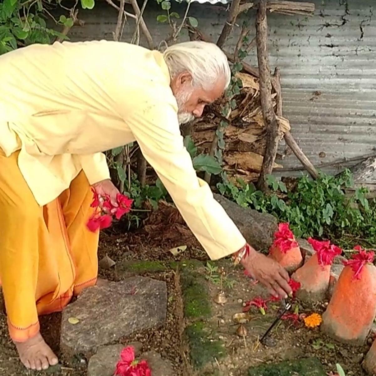 Madhya Pradesh: Since 1977, this man has shunned haircut for Ram Temple