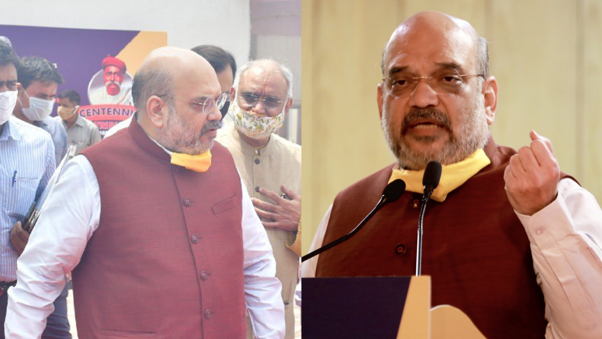 Mask Kidhar Hai? As Amit Shah tests coronavirus positive, videos of him walking around without a mask go viral
