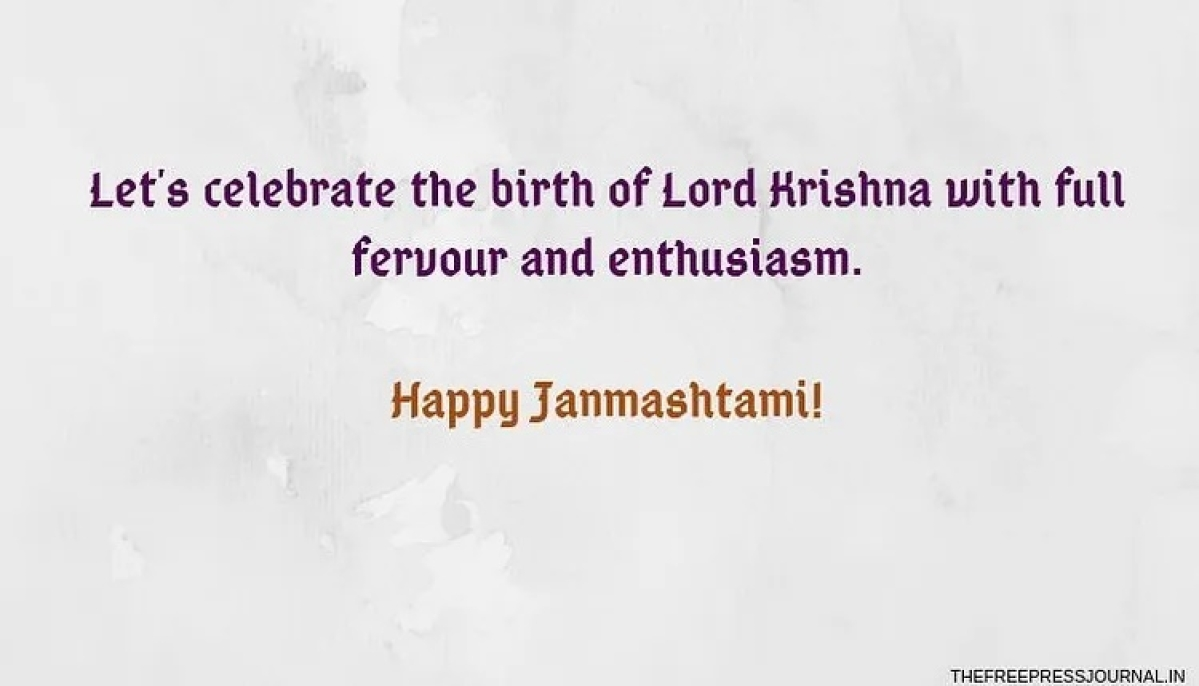 Krishna Janmashtami 2020: Wishes, greetings, images, quotes to share via SMS, WhatsApp, Facebook, Instagram