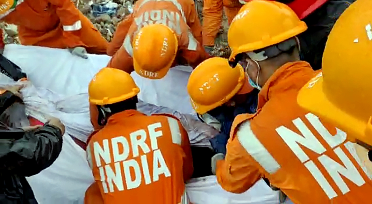 Mahad building collapse: Raigad district administration pitches for permanent NDRF base