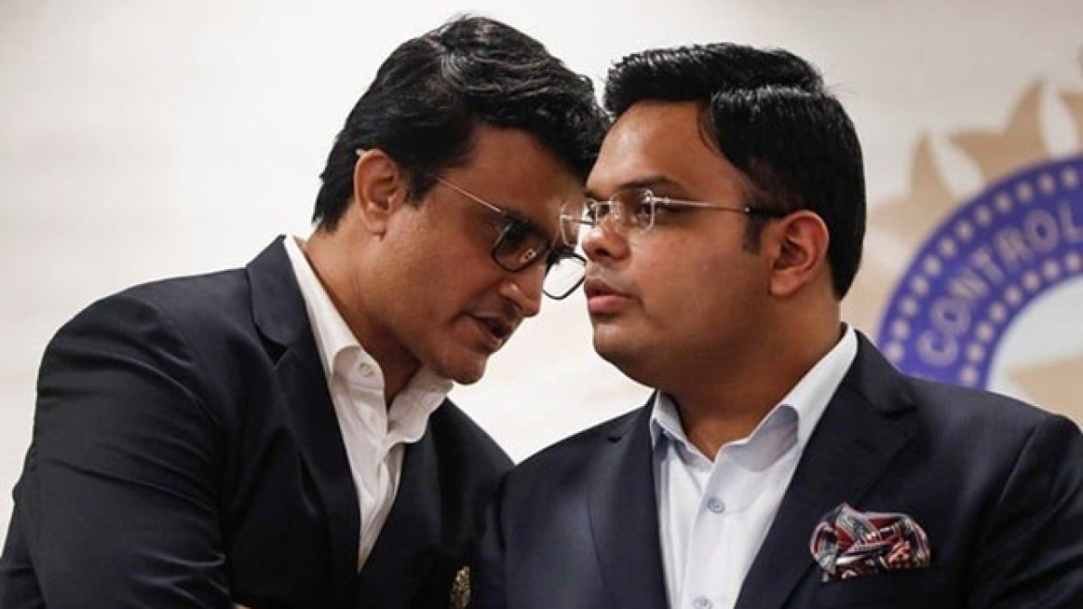 Sourav Ganguly and Jay Shah