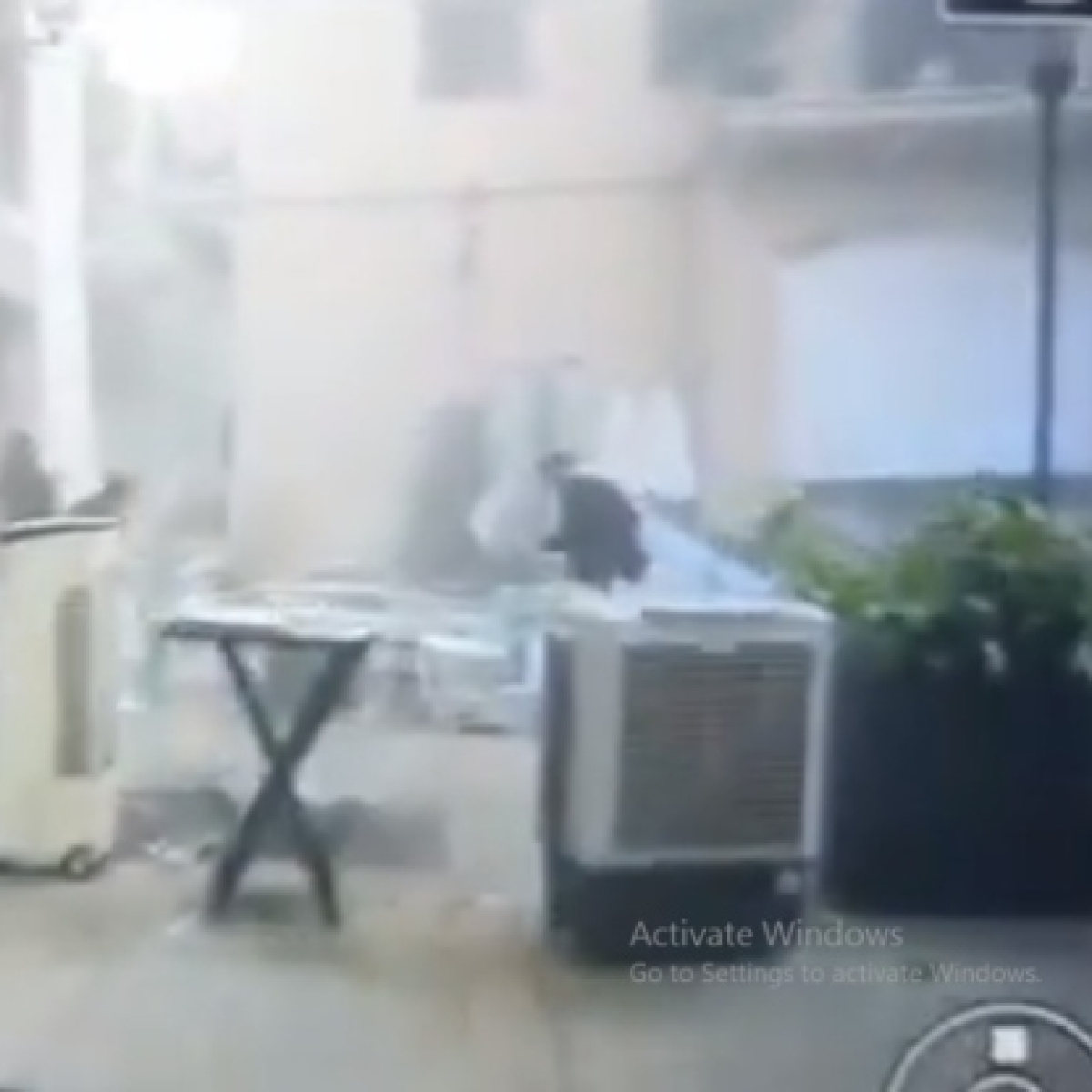 Beirut Explosion: Viral video of a bride running for her life will break your heart