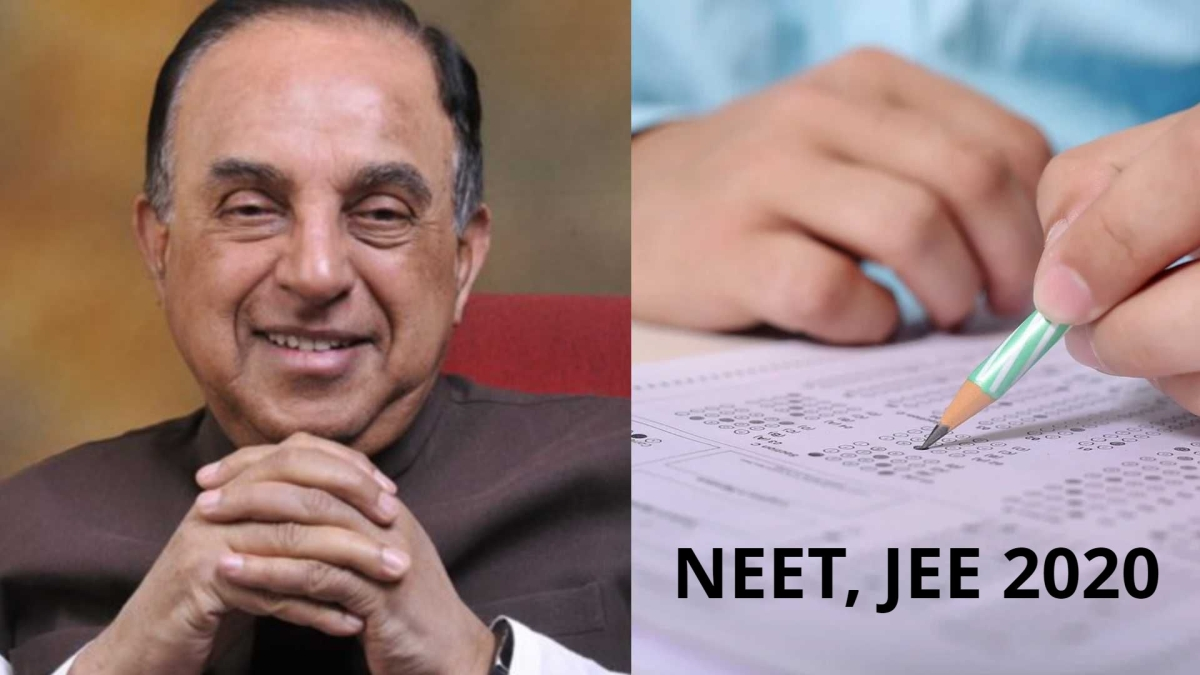 Subramanian Swamy might have 'good news' for JEE and NEET students; says will inform the students soon