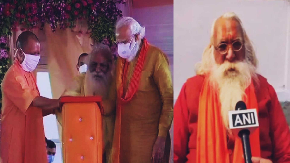 Ram Janmbhoomi Trust head Mahant Nritya Gopaldas, who shared stage with PM Modi, tests positive for COVID-19
