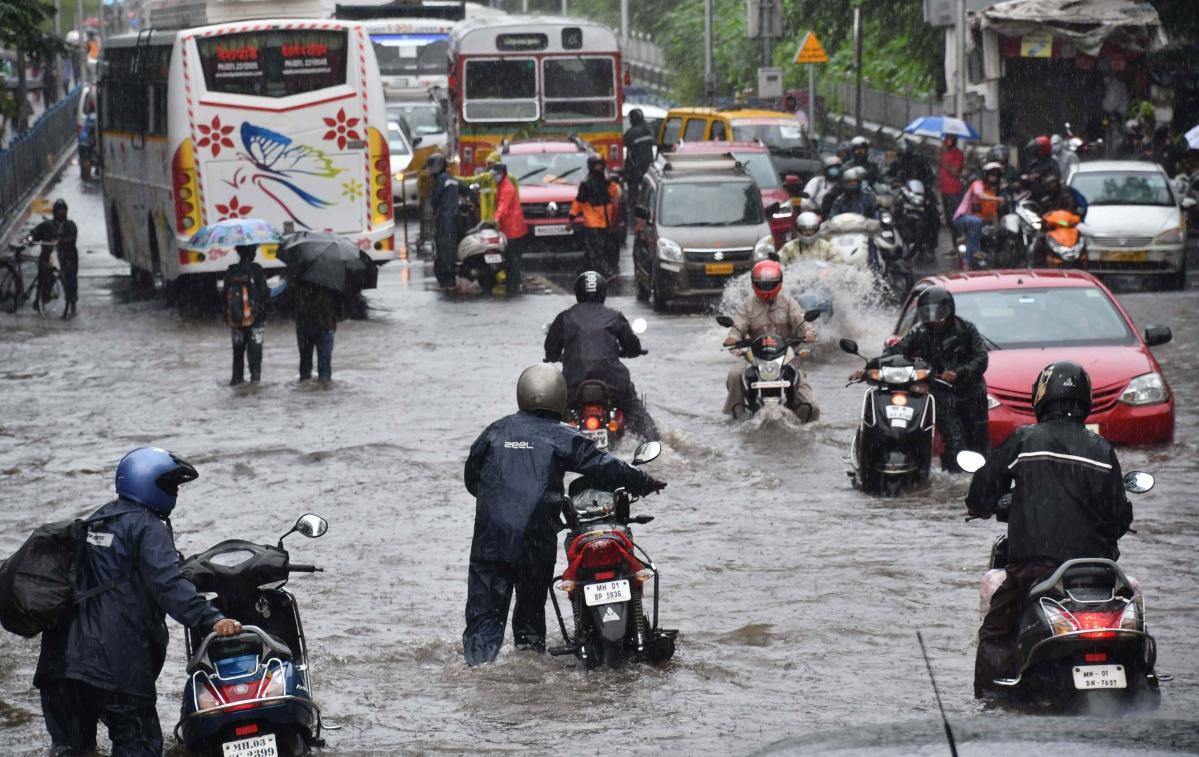 Mumbai Rains: As skies open up, city shuts down