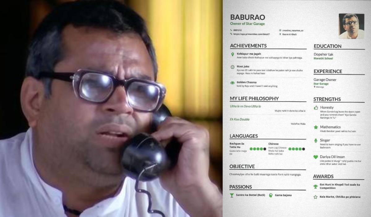 Paresh Rawal loves Baburao's 'CV', Twitter can't keep calm