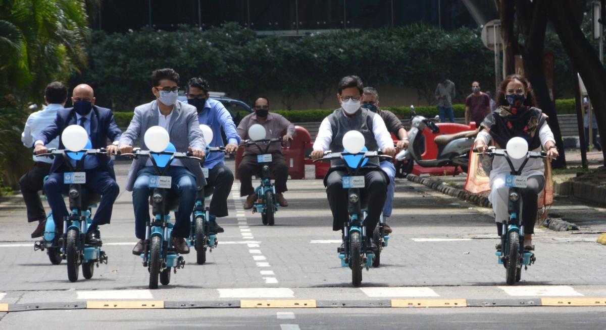 Mumbai: MMRDA and YULU launch e-bike service in BKC