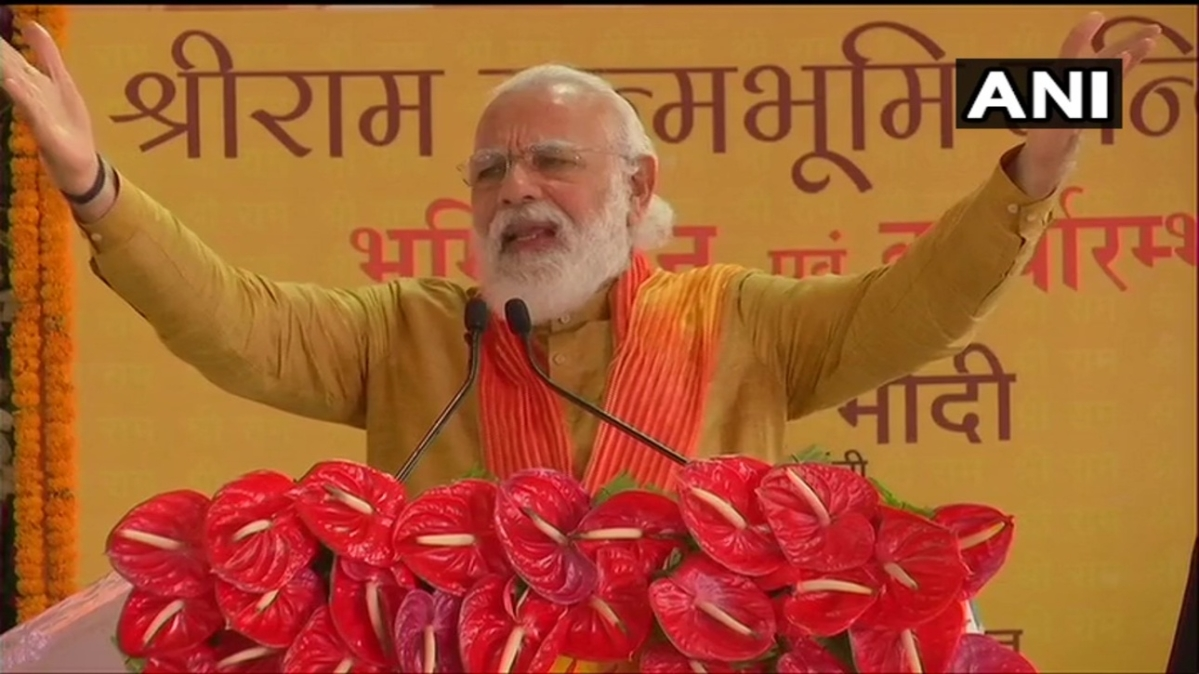 Ayodhya Bhoomi Pujan: Ram Mandir will become modern symbol of our traditions, says PM Modi