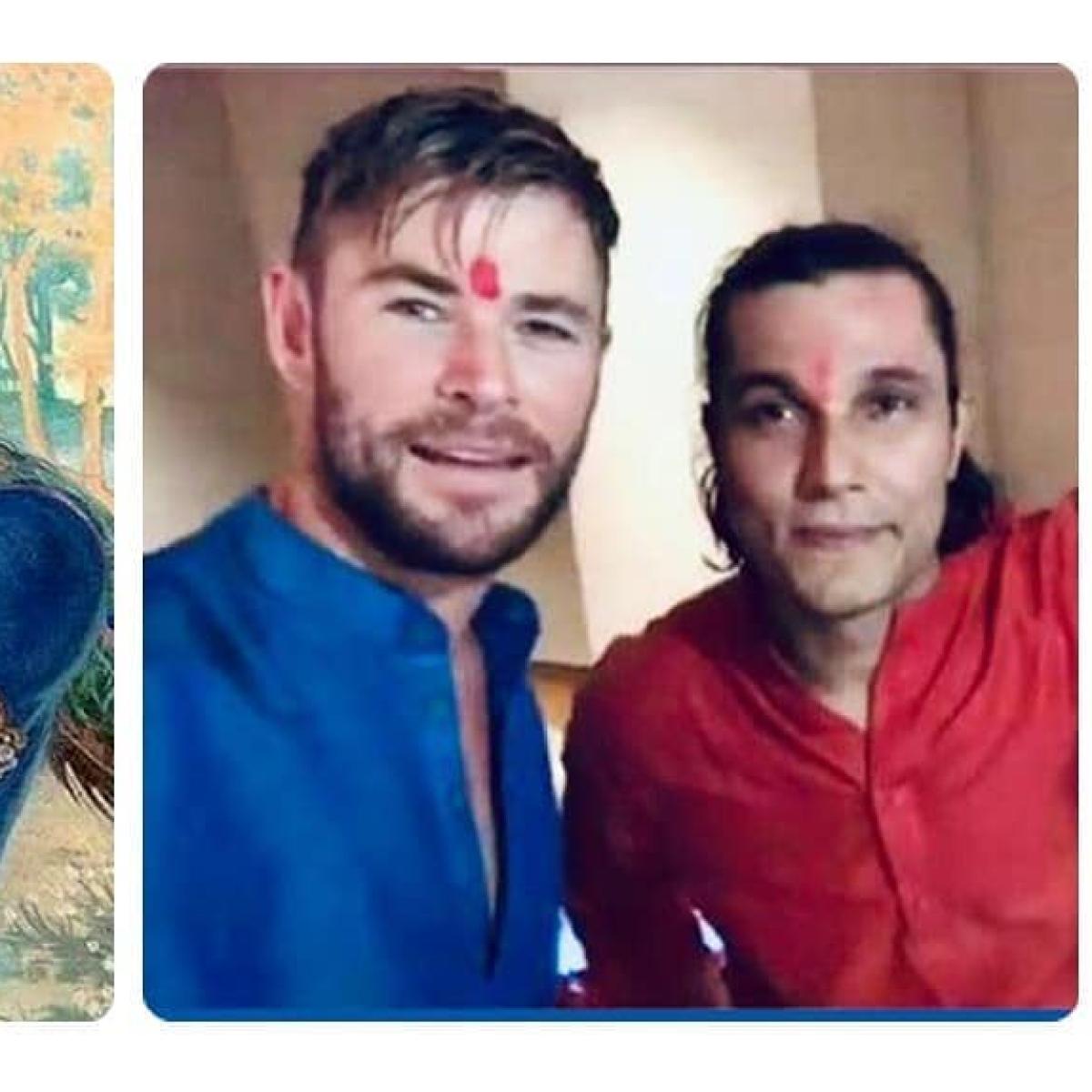Randeep Hooda extends birthday wishes to Lord Krishna and 'God of Thunder' Chris Hemsworth