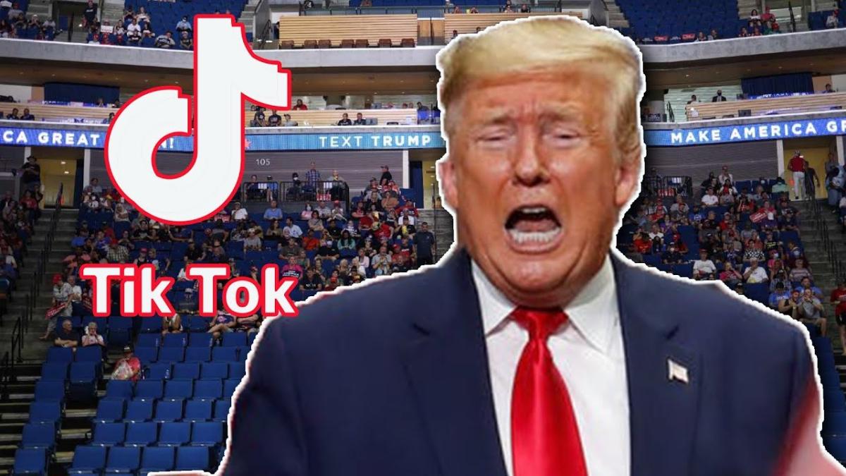 CEO Donald Trump wants a cut in TikTok sale