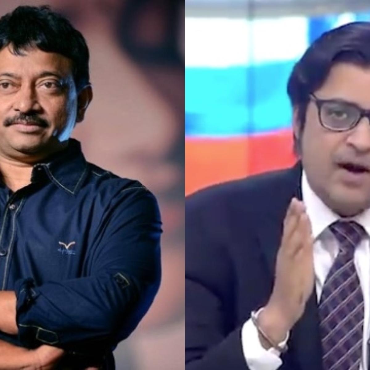 Ram Gopal Varma to make a film on journalist Arnab Goswami, 'take clothes off his facade'