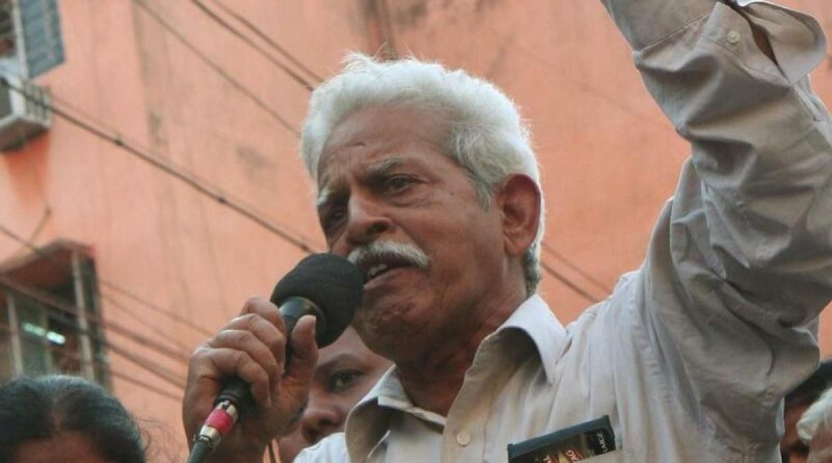 Ailing poet and activist Varavara Rao to be moved to Nanavati Hospital