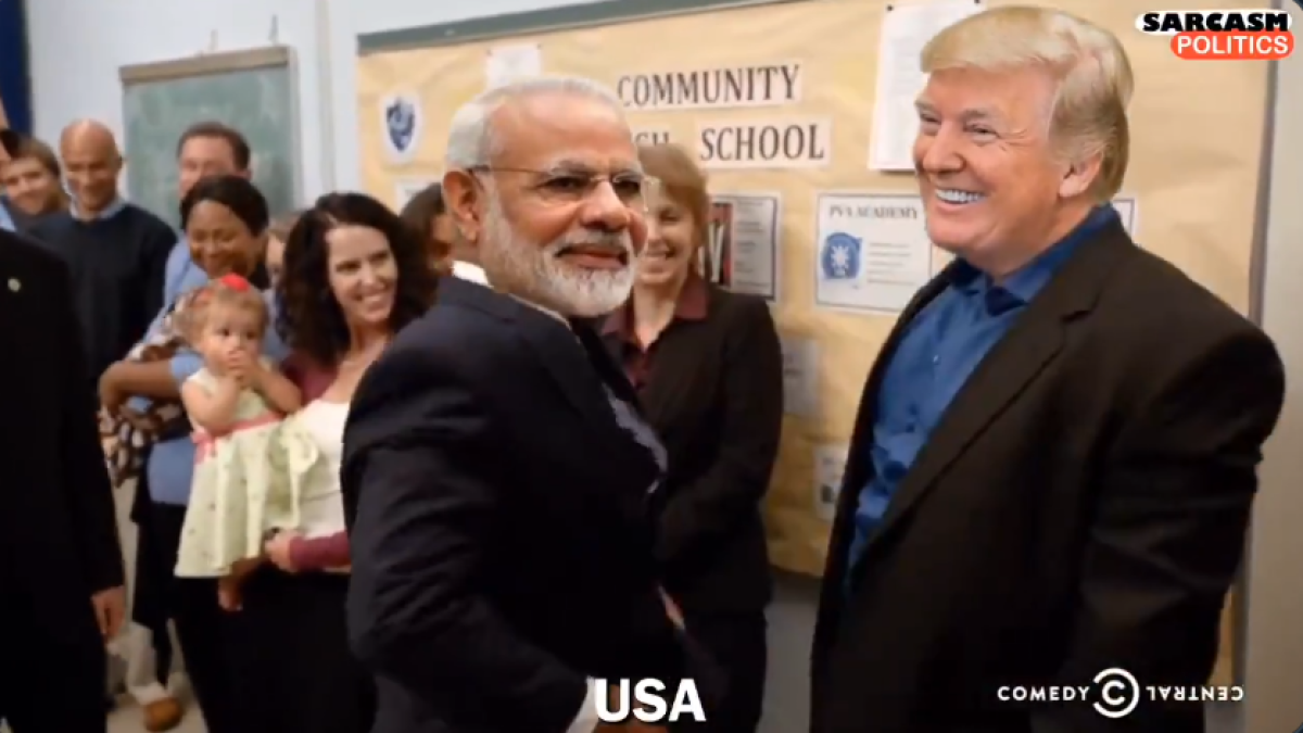 Watch: When PM Modi 'met' every world leader including Trump, Imran, Putin and Co