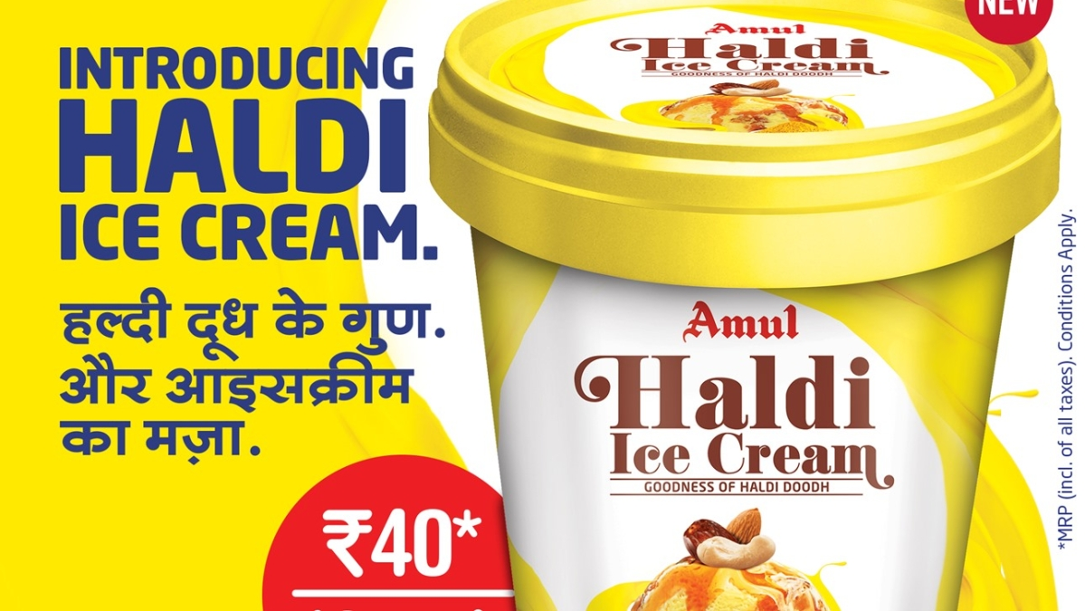 'The end is near': Twitter goes berserk after Amul introduces 'Haldi Ice-cream'