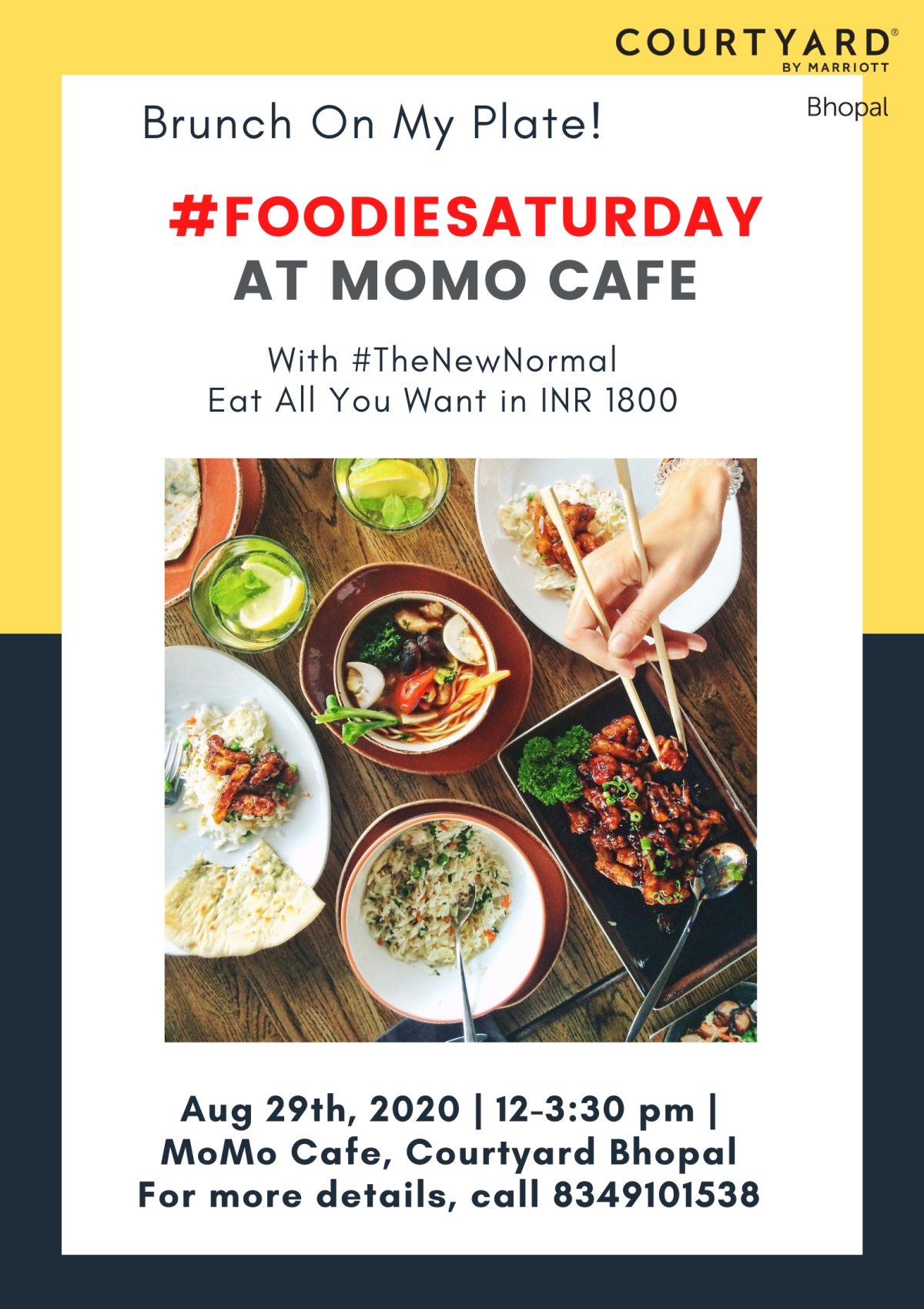 Bhopal: Want to enjoy lip-smacking Chinese and Mughlai Zayka? Join #FoodieSaturday by Courtyard by Marriott