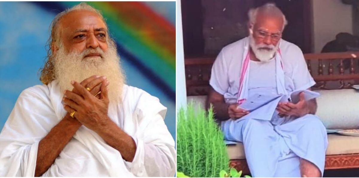 Congressman compares PM Modi's new look to 'creepy mixture of Asaram and Ram Rahim'