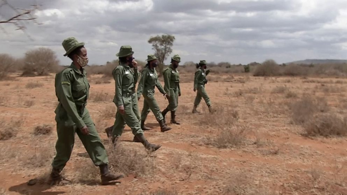 Meet Kenya's all-female wildlife rangers