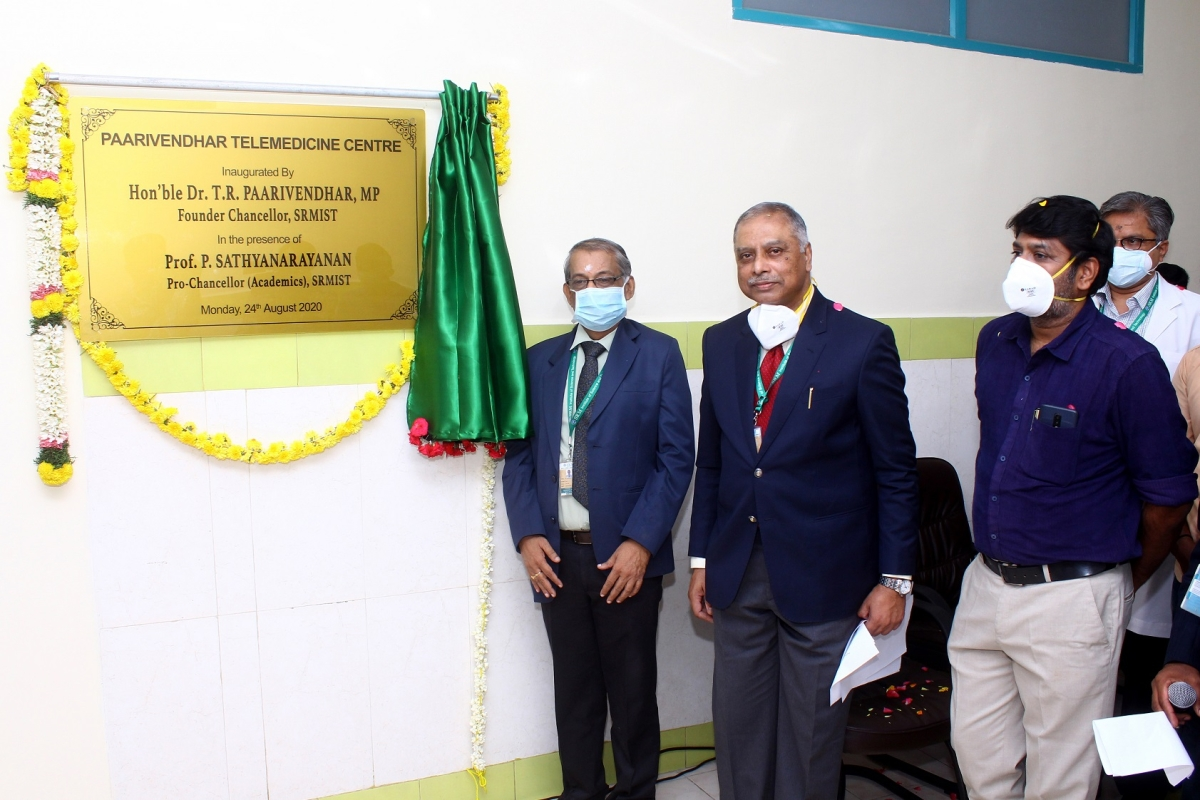 SRM Chancellor inaugurates new campus for Agricultural Science, Paarivendhar Telemedicine Centre on his birthday