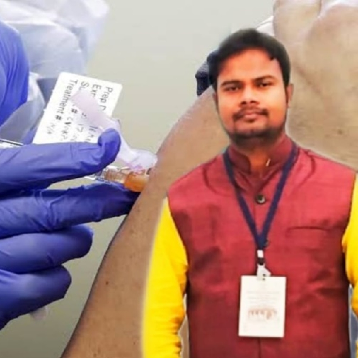 Coronavirus in West Bengal: 30-year-old school teacher from Durgapur returns home after a successful COVID-19 vaccine trial