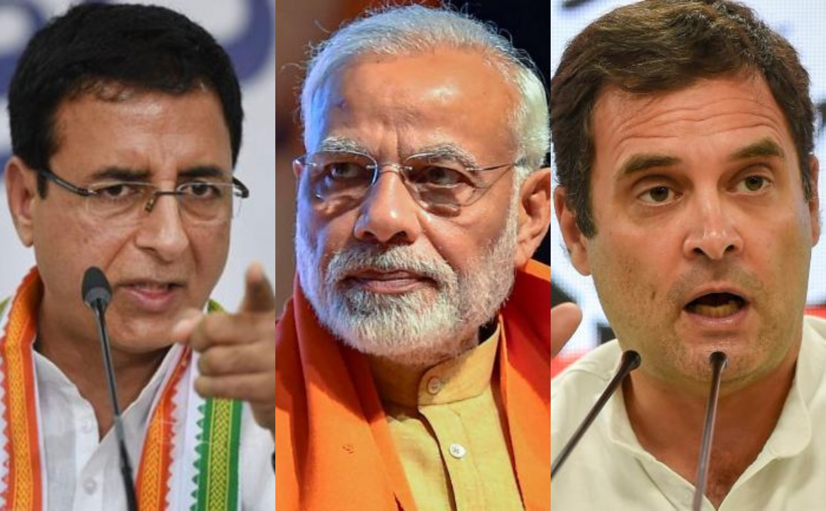 'False tweets, agendas have become only way out': Randeep Surjewala hits out at BJP over FB- Cambridge Analytica scandal