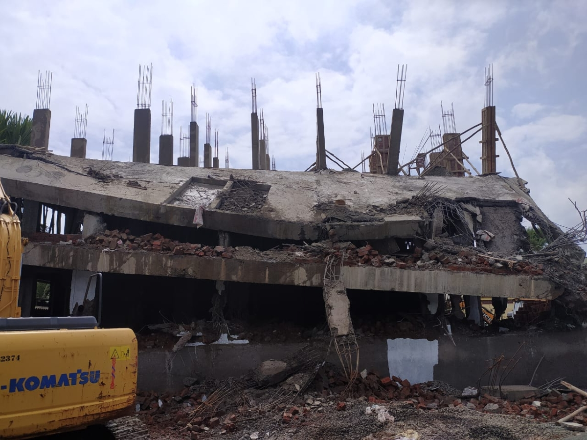 MBMC razes new illegal structures in Mira Bhayandar; shies away from filing police cases
