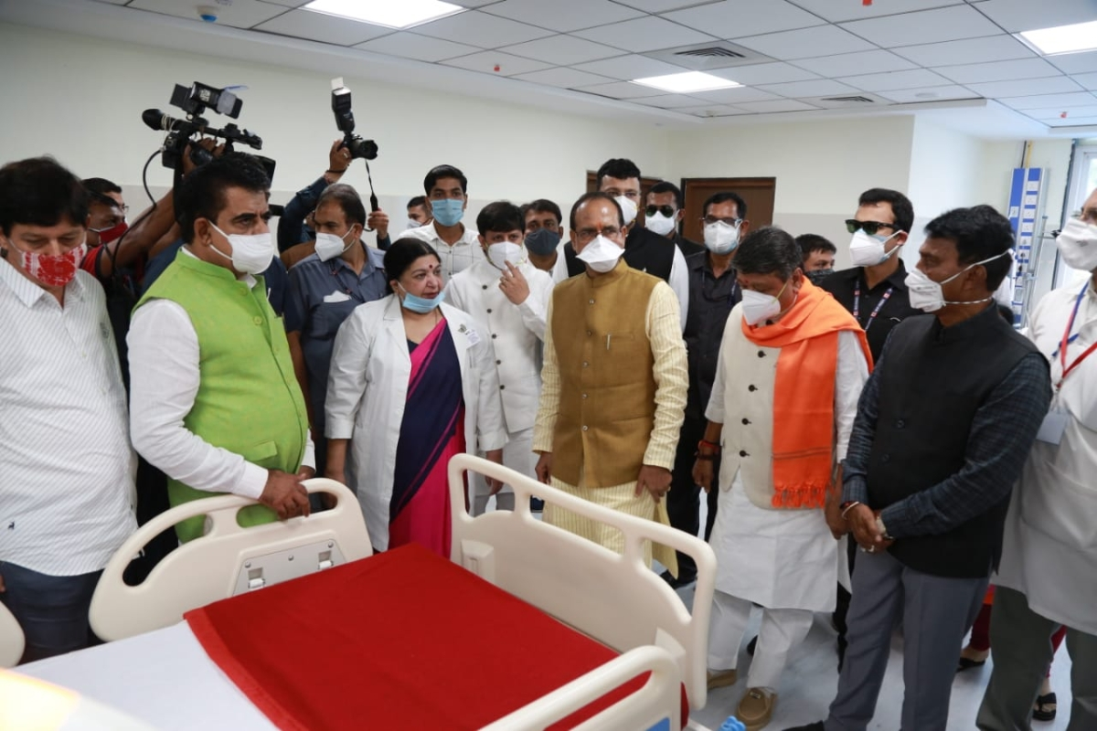 Chief Minister Shivraj Singh Chauhan on Friday inaugurated a 10-storey super speciality hospital in Indore.