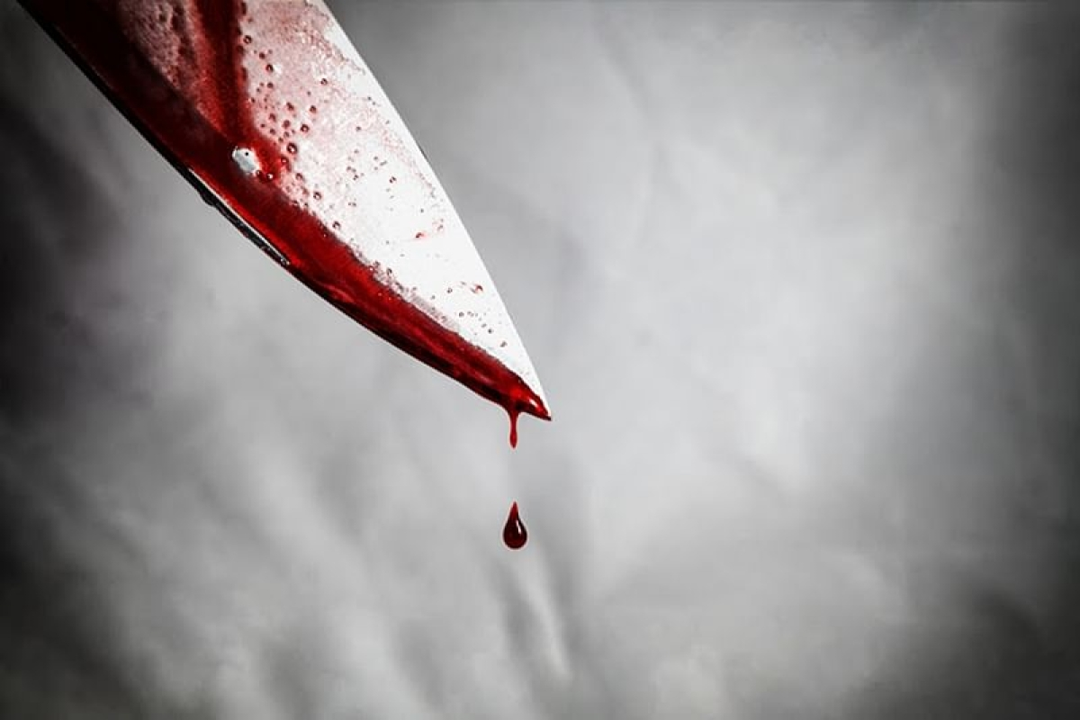 Policeman injured in knife attack, two held