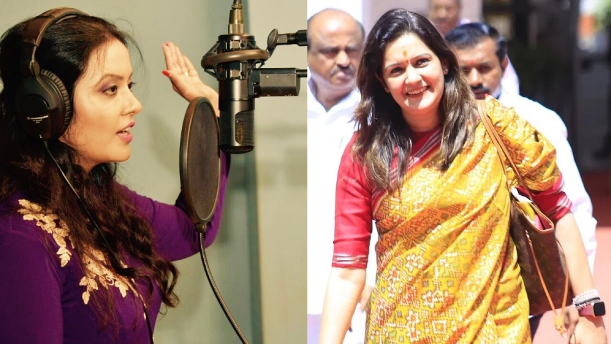 'Only audience forced to listen to your out of tune songs': Priyanka Chaturvedi slams Amruta Fadnavis for criticising Mumbai Police