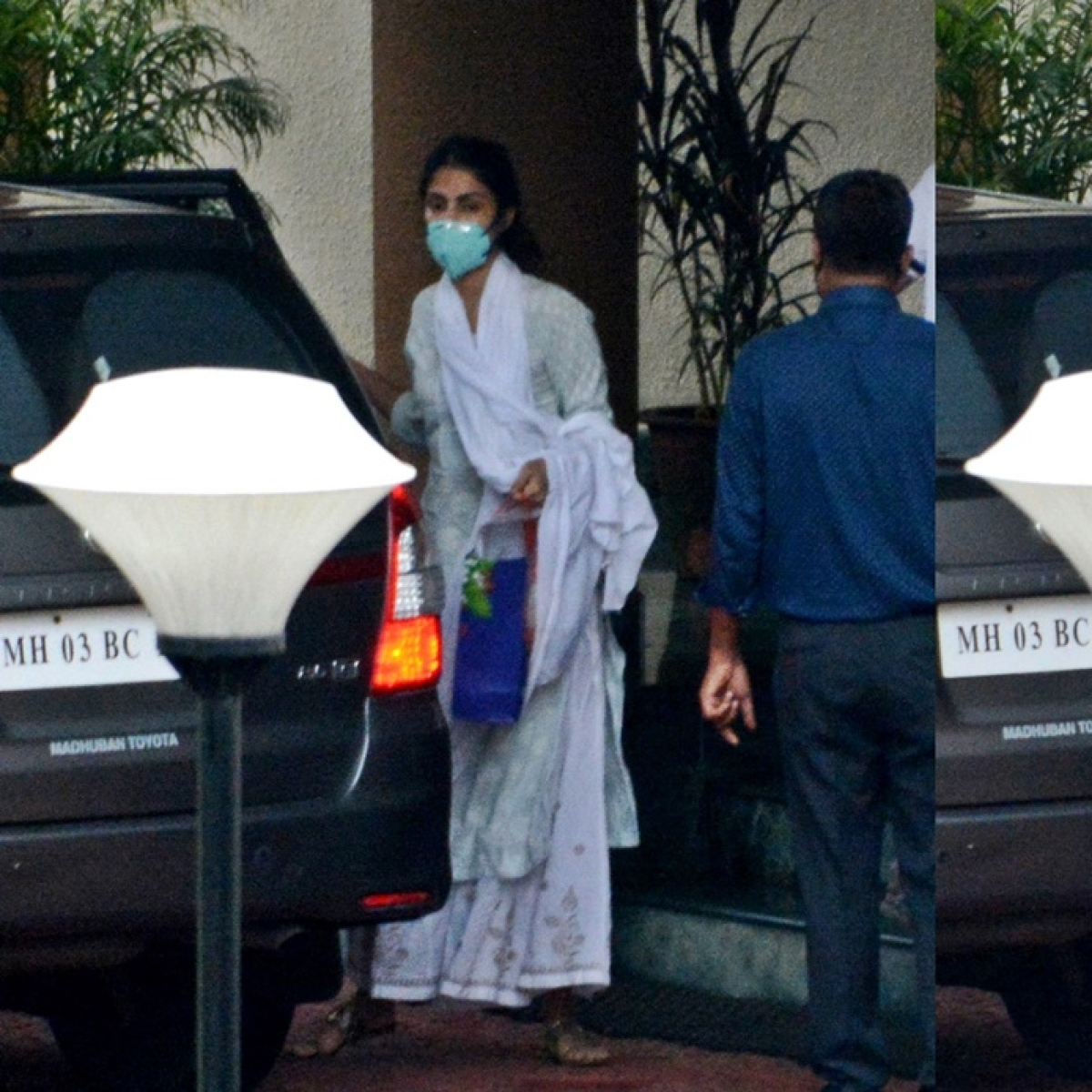 Sushant Singh Rajput death probe: Guarded by an army of cops, Rhea Chakraborty goes to CBI