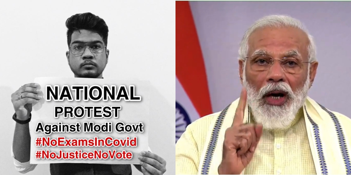 Final year exam row: Over 2.35 million join #ProtestAgainstExamsInCOVID to pressurise Modi govt