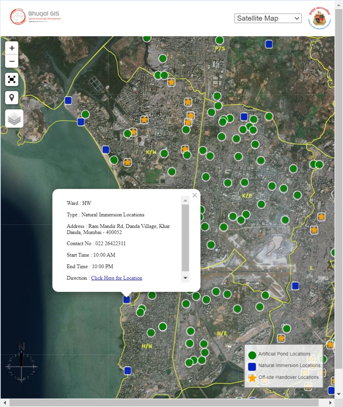 Ganeshotsav in Mumbai: BMC releases map marking locations of immersion sites