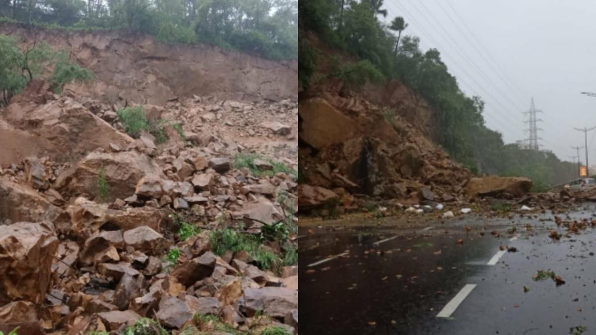 Mumbai Rains: Same old story as water-logging, traffic jams and landslides sink Maximum City