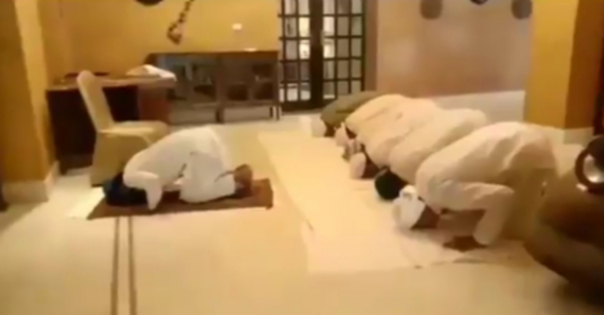 Eid in times of political crisis: Watch Congress MLAs offering Namaz at Hotel Suryagarh in Jaisalmer