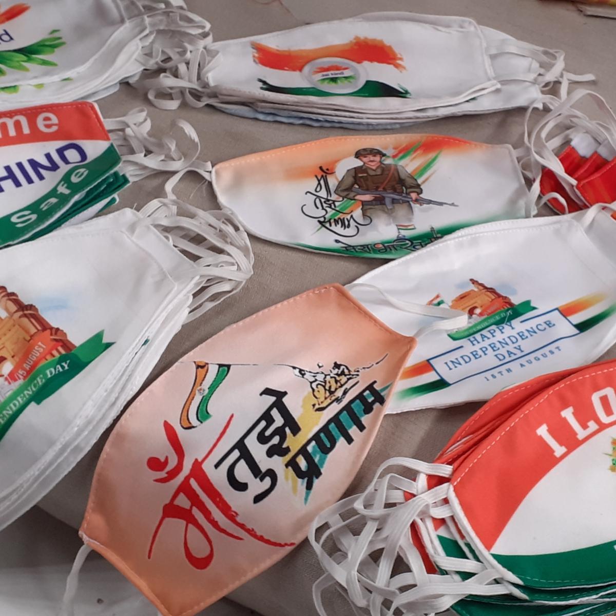 Indore: Now, wear your patriotism on masks