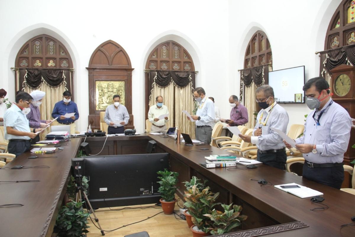 CR observes Sadbhavana Day