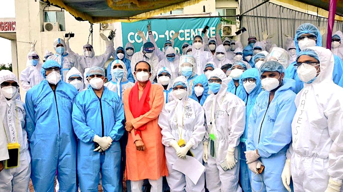 Coronavirus in Madhya Pradesh: Health workers to be vaccinated first against Covid-19, says CM Shivraj Singh Chouhan
