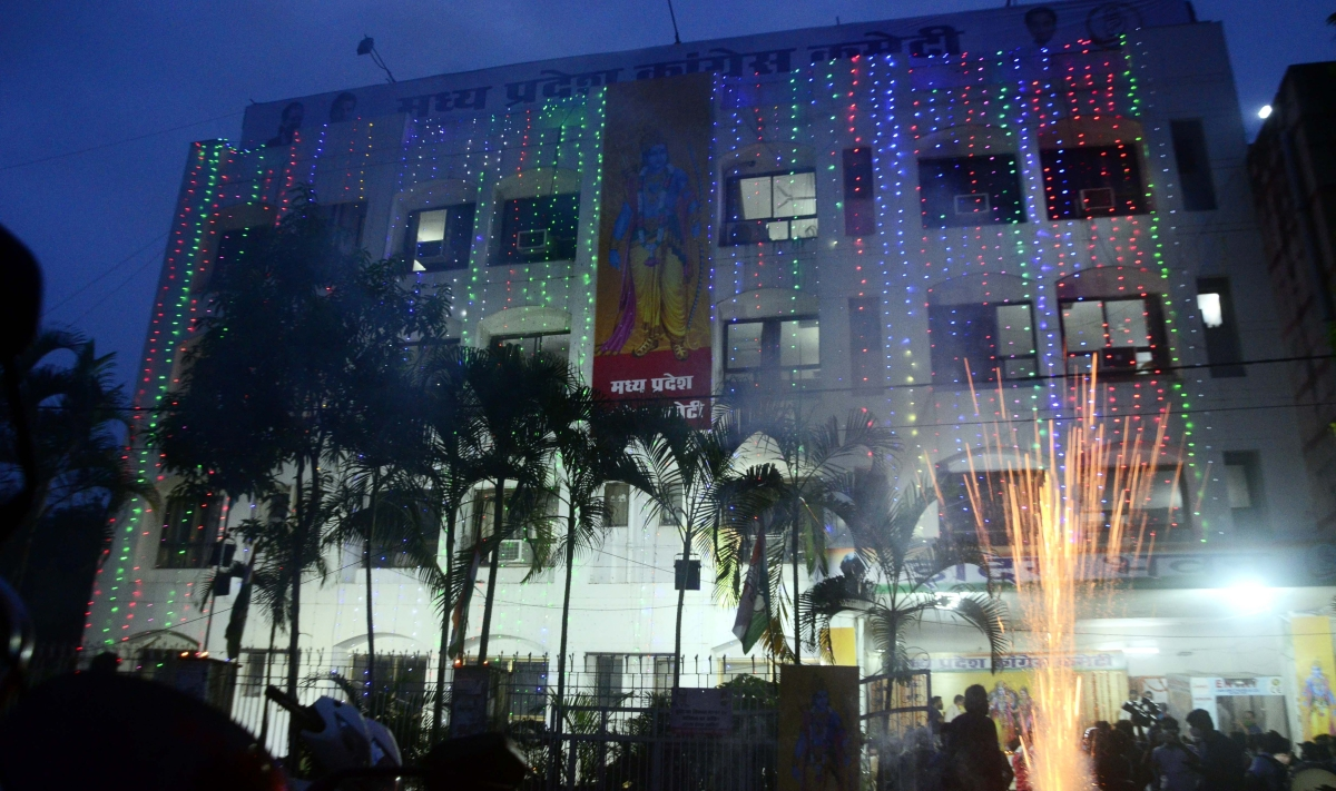 Madhya Pradesh: Congress leaders get soaked in Ram bhakti