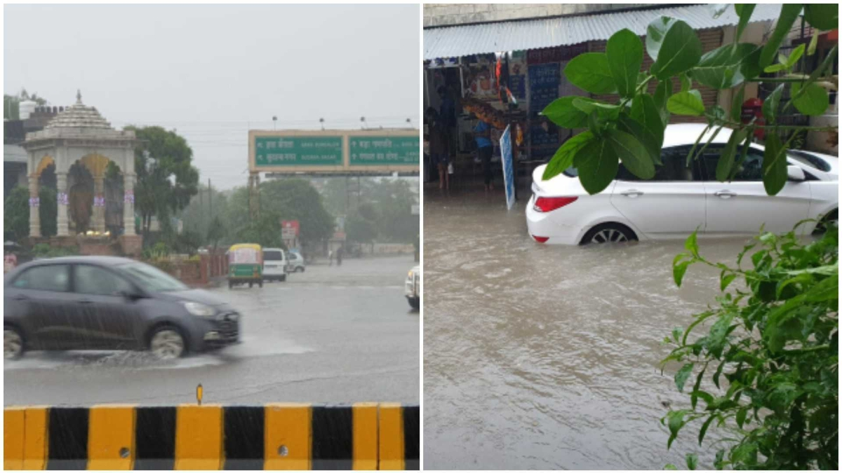 Indore Rain Update: Heavy showers throw life out of gear in the city